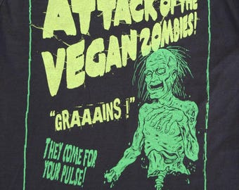 Vegan Zombies ! Ladies T-Shirt.