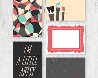 Jouranling Cards - Artsy