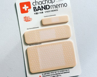Band Aid Sticky Notes, Medical Plaster Post It Notes, Reminder Notes, Memo Pad Stickers, Planner Page Marker Stickers, Doctor/Nurse Gift