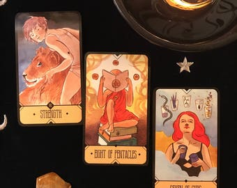 Three Card, Intuitive Reading