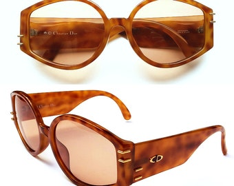 NEW VINTAGE Christian Dior 2603A Women Sunglasses Freckled Optyl Frames 80s Cd