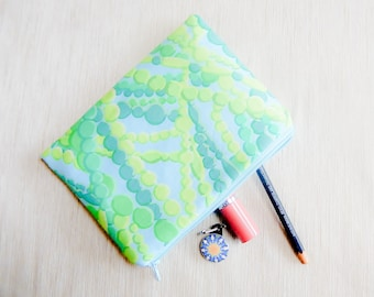 Make Up Bag/ Gift for Her/ Gift for Women/ Pencil Case/ Gift for Mom/ Gift for Wife/ Sister Gift/Mothers Day Gift/ Coworker Gift/ Pouch