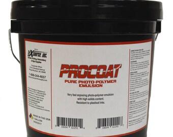 Procoat Screen Printing Emulsion - Quart