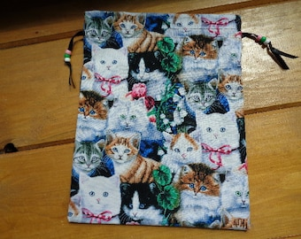 Love My Kitty Knitting or Crochet Project Bag