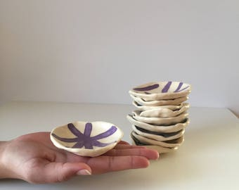 Small Handmade Ceramic Ring Dish