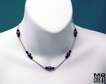 Swarovski Pearls & Crystals necklace