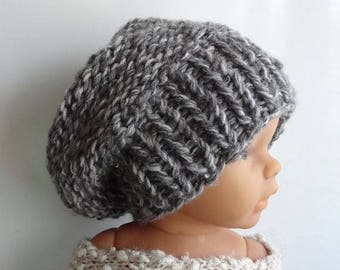 Newborn slouchy Hat - Baby Fall sacking Hat  Photo Prop Hat - Newborn Knit Hat - Toddler slouchy hat - Slouchy  Beanie newborn slouchy