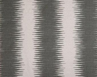 JIRI-Designer Fabric by the yard NOVA GREY/Gray Birch Premier Prints-1 yard yardage or more-Ships Fast-