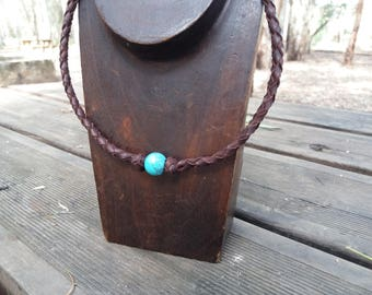 Leather necklaces womens, mens necklace, necklace boy, necklace blue, blue, leather necklace woman, leather necklace men, leather pendant