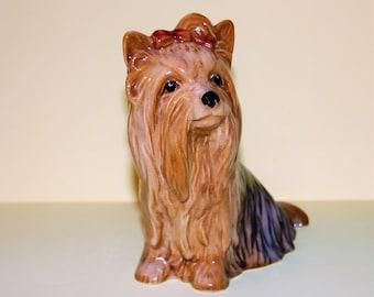 Vintage Collectible Sylvac Yorkshire Terrior Figurine/Reg. 5027