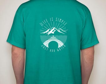 Kayak T-shirt Green