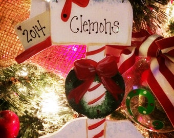 MAILBOX ornament Family new home house personalized christmas tree ornaments