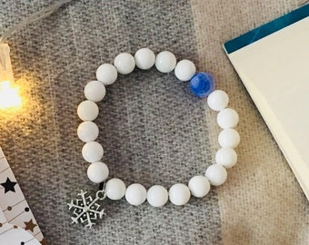 The White Witch - Mala Bracelet