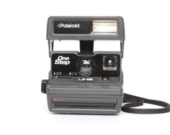 polaroid 600 CAMERA light management system 80s works perfectly