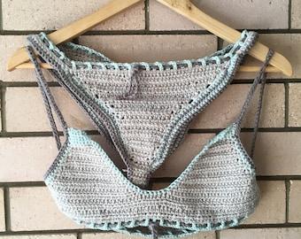 Bamboo Crochet Bikini Set