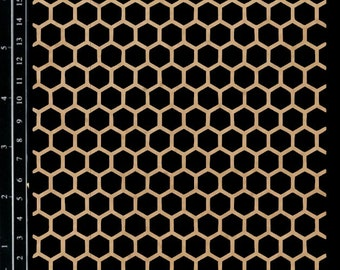 Scrapaholics Chipboard - Honeycomb Panel