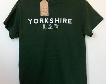 Yorkshire Lad Cotton T-Shirt - Green