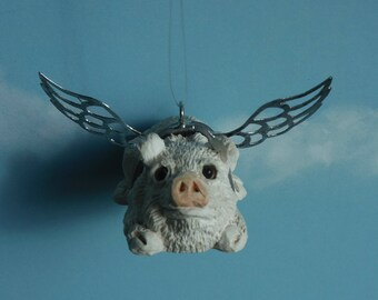 Car Mirror Flying Pig