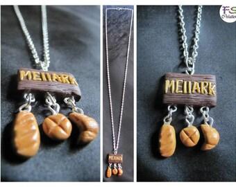 Collar MELLARK BAKERY (panadería de Peeta en los juegos del hambre)