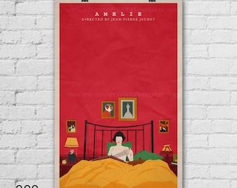 Amelie Art Print. Movie Art Print. Pop Culture and Modern Wall Decor, 11x17, 13x19, 16x20, 18x24, A1 Size. Select a size. Item no. 008