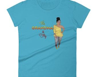 Grandma Fitted Women's short sleeve t-shirt
