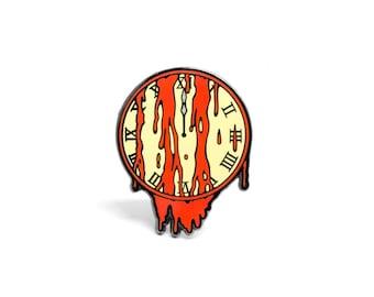 Doomsday Clock Enamel Pin