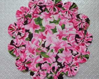 Pink Azalea Doily