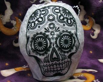 Halloween Party Favor: Sugar Skull. Cinco de Mayo, Calaverak Dia de los Muertos, Celebration