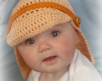 Artistic Inspiring Sun and Surf Hat Digital Crochet Pattern pdf 742 Infant to Adult sizes
