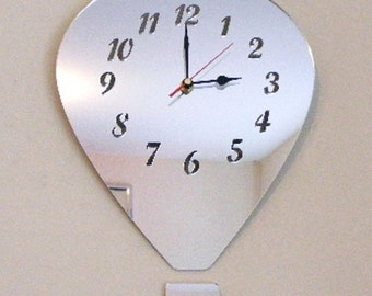Hot Air Balloon Clock Mirror - 2 Sizes Available