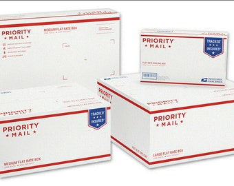 Upgrade shipping: USPS Priority Mail 2 Day Flat Rate Box - USA only