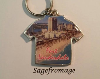 Fort Lauderdale keychain