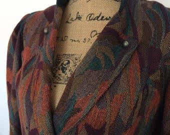 Vintage cropped blazer 70-80