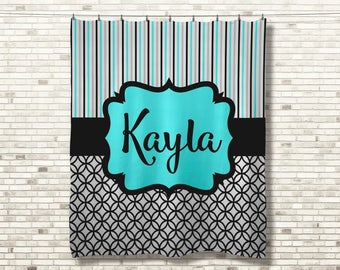Personalized Blanket, Monogrammed Blanket, Personalized Wedding Blanket, Custom Name Blanket, Custom Birthday Gift, Mothers Day Gift