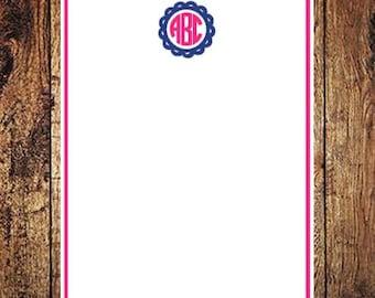 Printable Letter Sized Monogram Paper