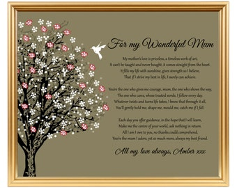 Mothers Day gift - Mom from daughter son - Gift for Mum - Gift for Mom - Gift Mom - Gift Mum - Gift for Mothers Day - Mom gifts - Mum gifts