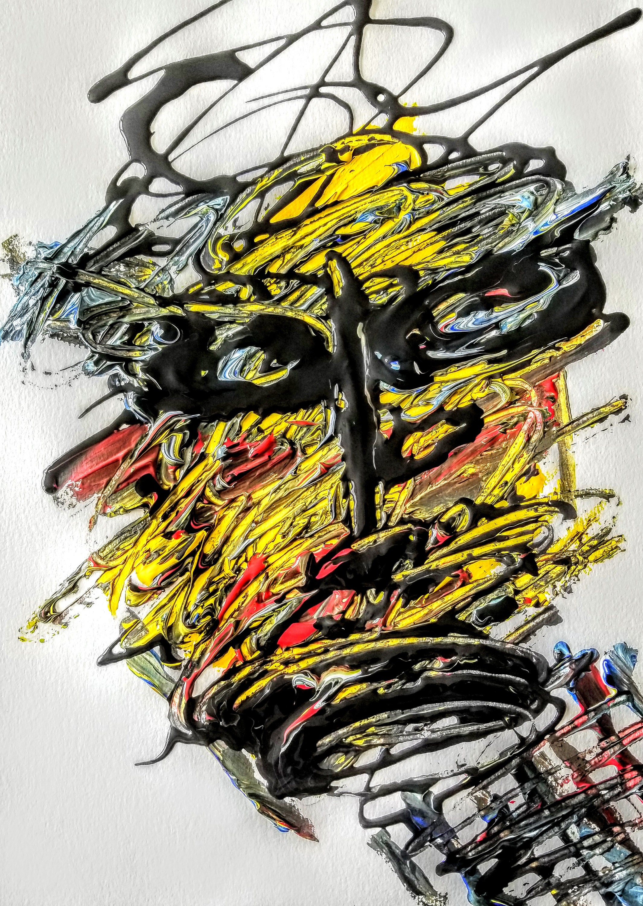 The Mask - Art, Paintings, Abstract, Faces, Trey Coppland Designs ...