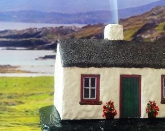 Traditional Irish Cottage Incense Burner