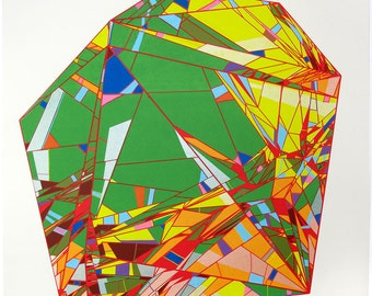 Multi Fractured Crystal