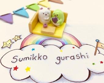 Sumikko Gurashi Shirokuma/Polari & Penguin?/Pinguinosh? sharing a moment in their favourite corner Ornament