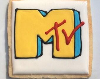 80's & 90's MTV Cookies
