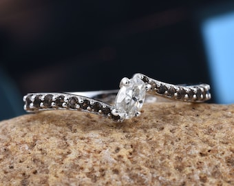 Diamond Solitaire Ring - Size 8