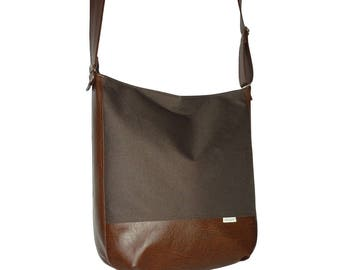 5462, dark brown canvas leather crossbody bag, dark brown bag, dark brown crossbody bag, dark brown canvas leather, canvas leather bag brown