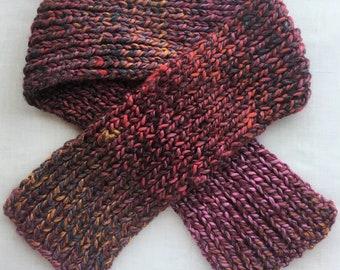 Child's Bulky Knit Scarf