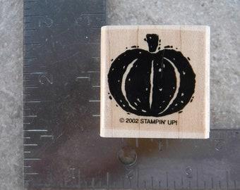 Stampin Up Pumpkin Single Stamp #A86