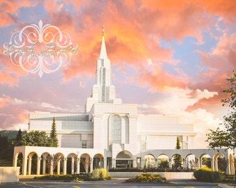 Bountiful, Utah LDS Mormon Temple