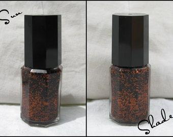 Great! Pumpkins! - Labracadabra Orange & Black Glitter Halloween Nail Polish
