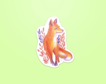 Fox - Sticker ~ Lucile Farroni