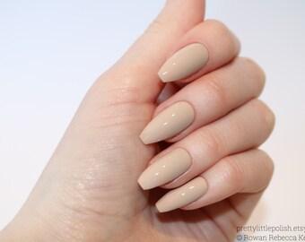 Nude coffin nails, Nail designs, Nail art, Nails, Stiletto nails, Acrylic nails, coffin nails, Fake nails, False nails