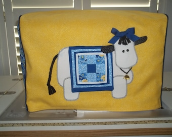 Yellow Cow Sewing Machine Cover